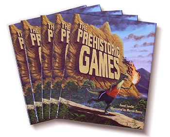 copies of the Prehistoric games book